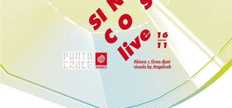 SNAKES.CROCE with SIN/COS | 16 Novembre | 19:00
