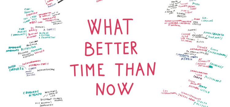 What better time than now | 23, 24, 25 gennaio
