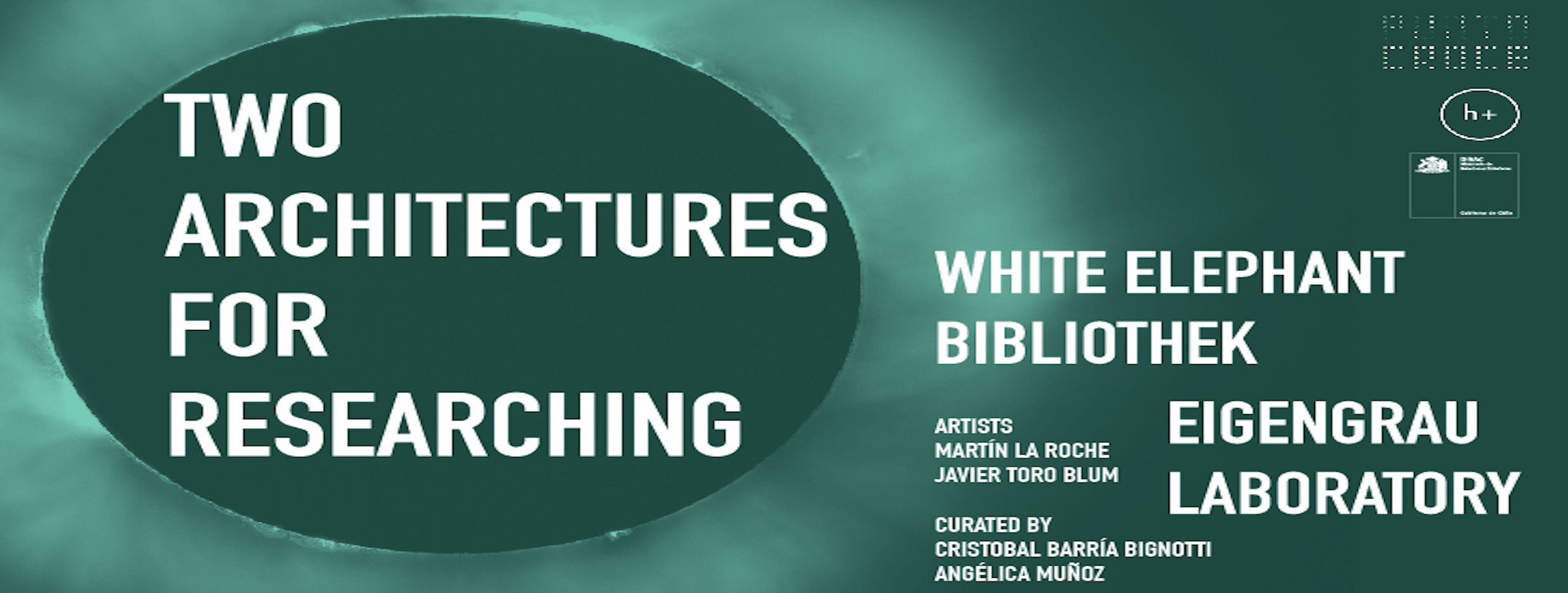 Two Architectures for Researching | 28 maggio - 11 giugno | 19:00
